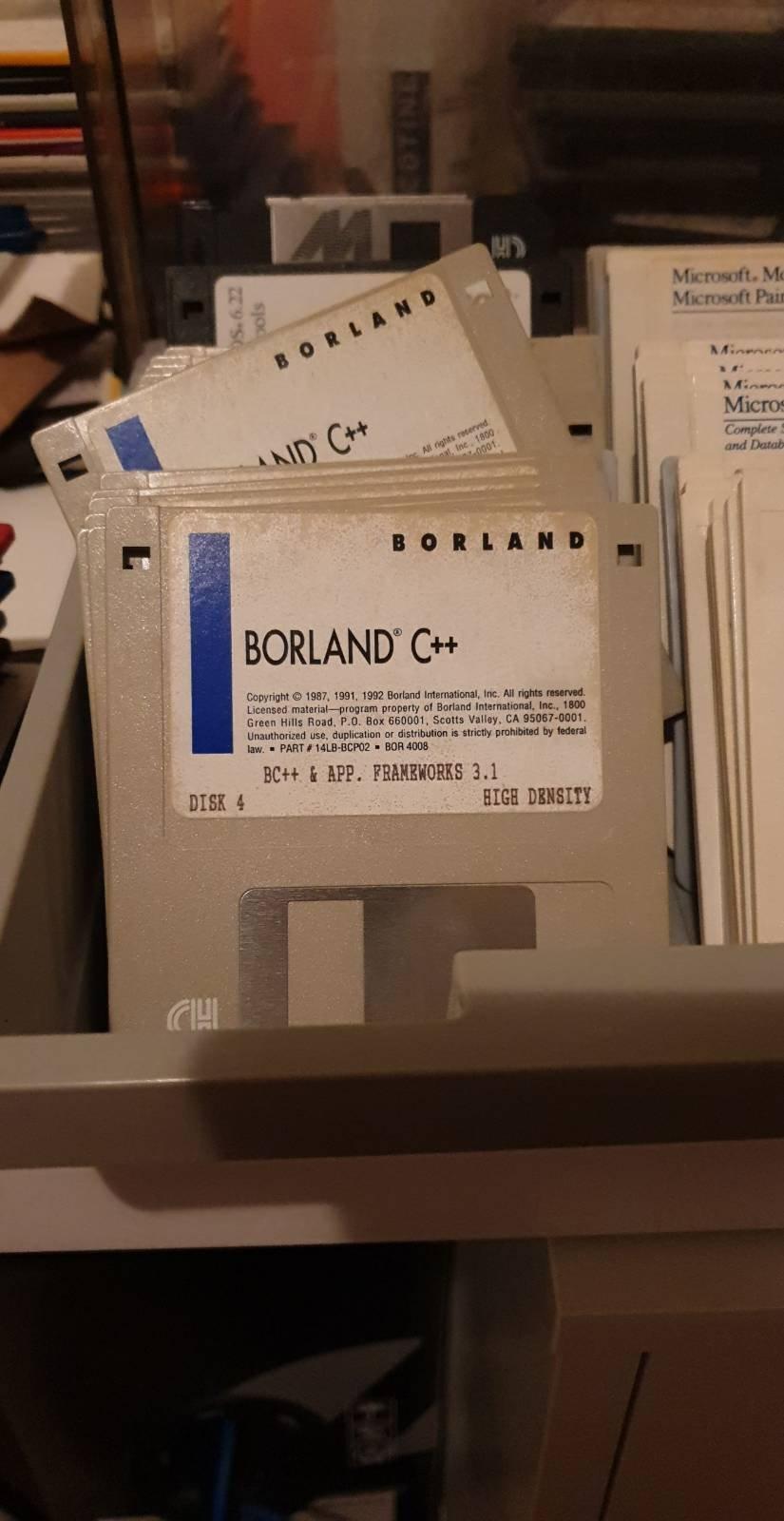 Borland C++ install media